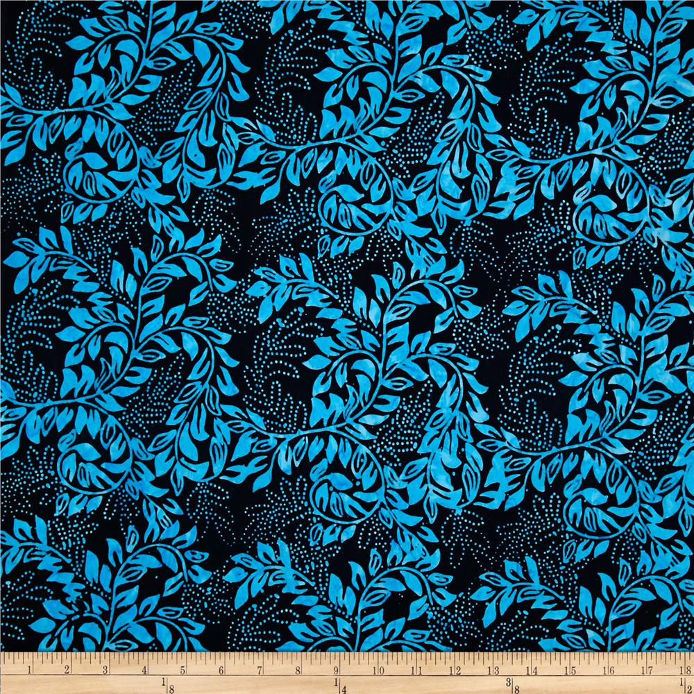 Tonga Batik Atlantis Bean Stalk Black