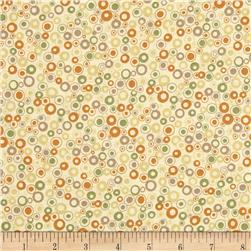 Return to Mackinaw Island Dots Gold/Tan Fabric