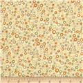Return to Mackinaw Island Dots Gold/Tan