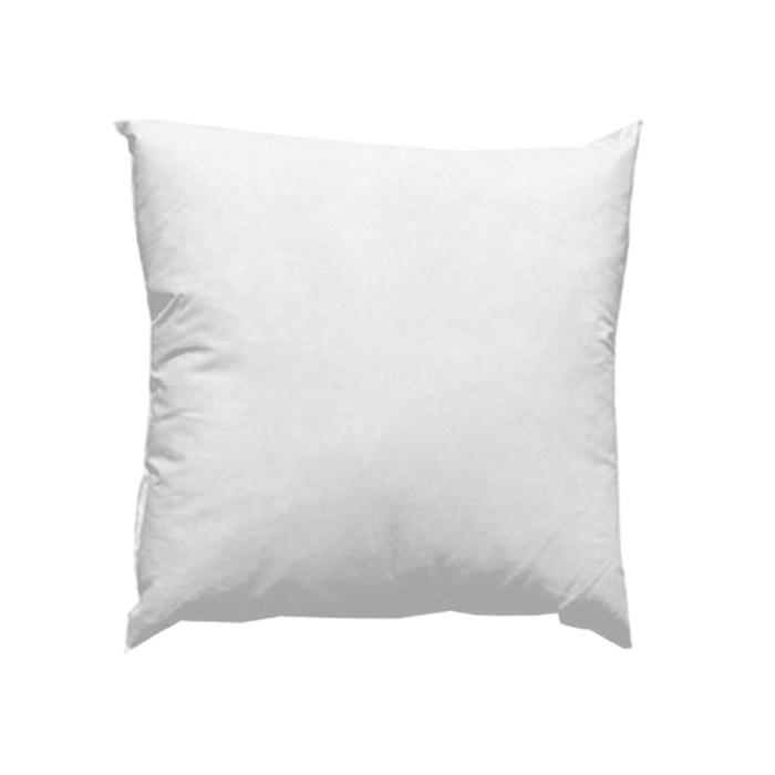 18'' x 18'' Feather/Down Pillow Form White