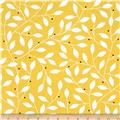 Contempo Cosmopolitan Leaf Vine Yellow