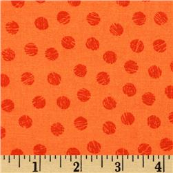 Sketch Dots Orange