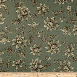 Jo Morton Charleston Large Flower Teal