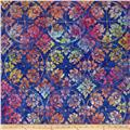 Timeless Treasures Tonga Batik Pinwheel Wallpaper Pizzazz