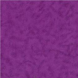 Flannel Quilter's Suede Grape