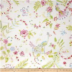 Chinoiserie Chic Birdsong White