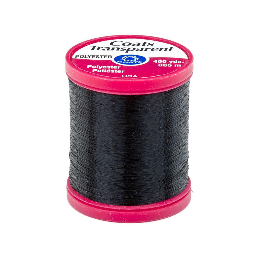 Coats & Clark Transparent Polyester 400yds Smoke
