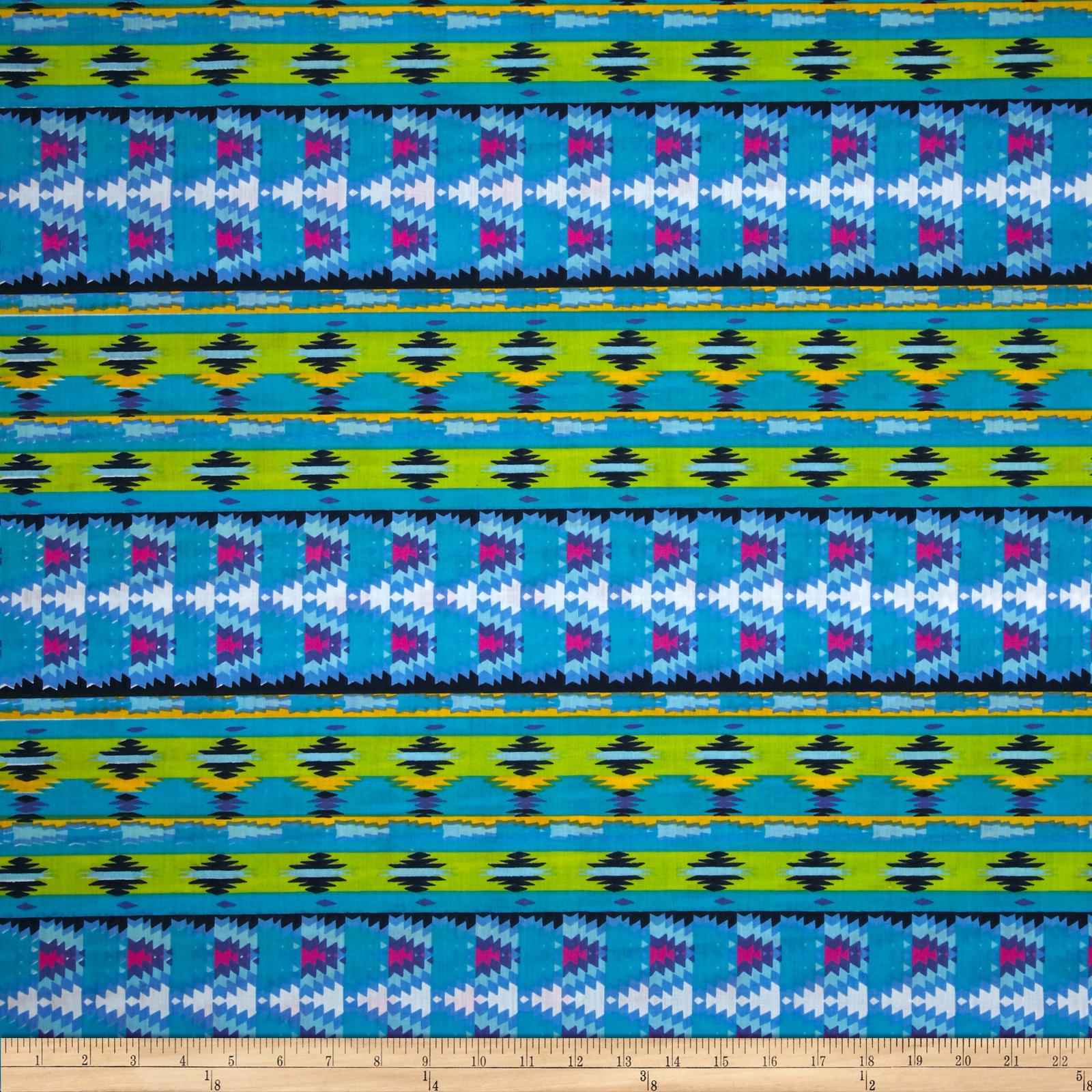Duran Cotton Poly Broadcloth Lagoon Fabric by Newcastle in USA