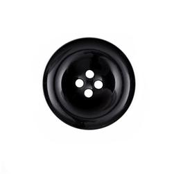 Fashion Button 1 3/8'' Salem Black