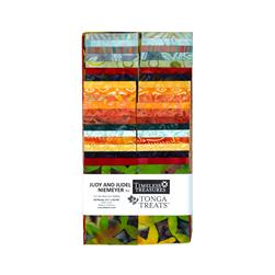 Timeless Treasures Tonga Batik Treats Birds of Paradise 2.5 In Treat Strips
