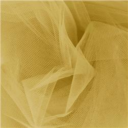 108'' Wide Nylon Tulle Velium Gold Fabric