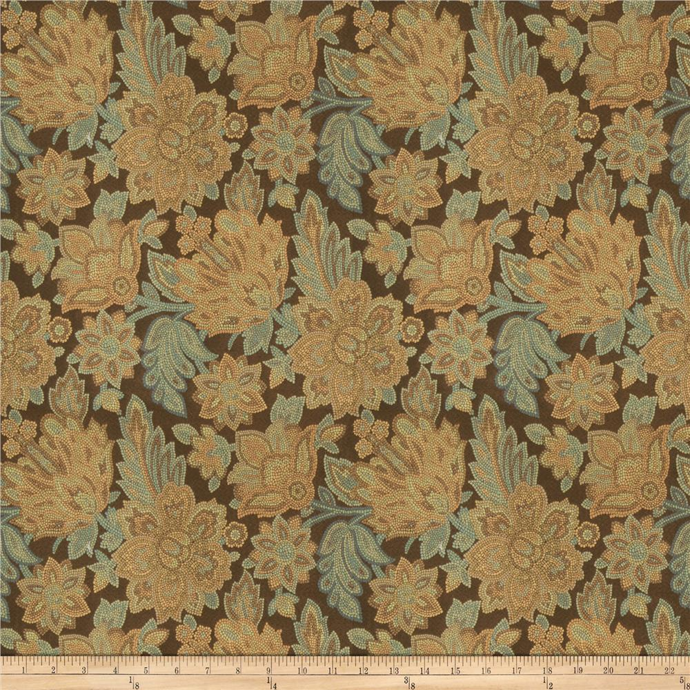 Trend 03101 Jacquard Exotic Teal