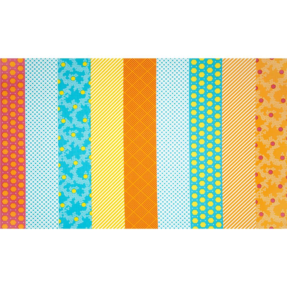 Dots Right Strip It Pink/Yellow