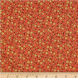 Indian Summer Cottage Floral Coral