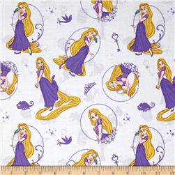 Disney Princess Rapunzel Tangled White