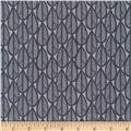 Cloud 9 Matte Laminate Falling Leaves Grey/Black