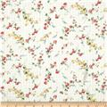 Liberty of London Tana Dobby Elizabeth White/Pink/Green