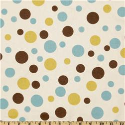 Premier Prints Spirodots Chocolate/Natural