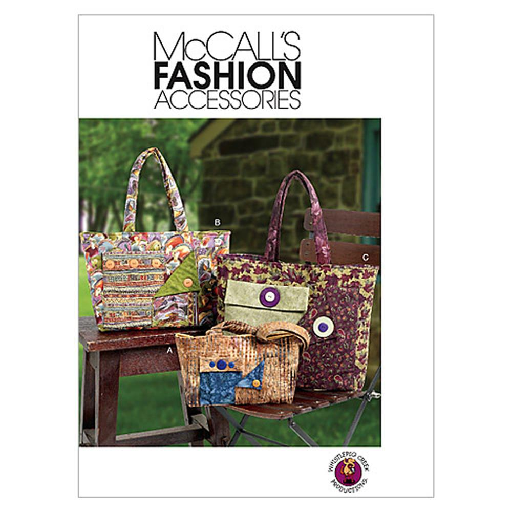 McCall's Bags Pattern M6409 Size OSZ