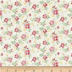Sweet Shoppe Little Flower White Multi