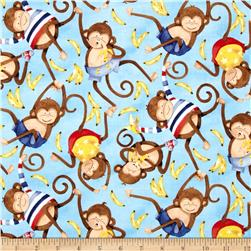 Monkey Business Monkey Toss Multi Fabric