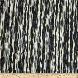 Robert Allen Indoor/Outdoor Baja Texture Indigo Fabric