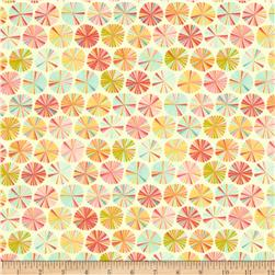 Riley Blake Fancy Free Flannel Pinwheels Multi