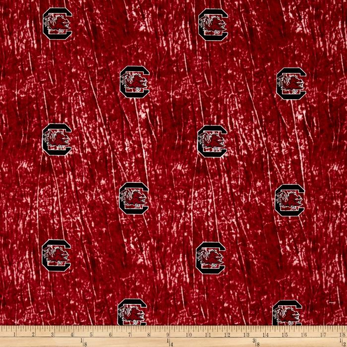 Collegiate Cotton Broadcloth University of South Carolina Tie