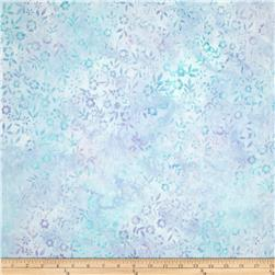 Artisan Batiks Splendid Small Leaves Periwinkle