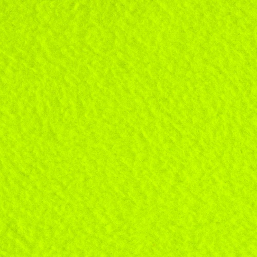 Fleece Solid Neon Yellow