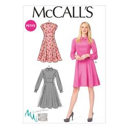 McCall's Misses'/Miss Petite Dresses Pattern M6989 Size A50