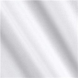 Stretch Rayon French Terry Knit White