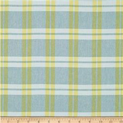 Chambray Shirting Plaid Yellow
