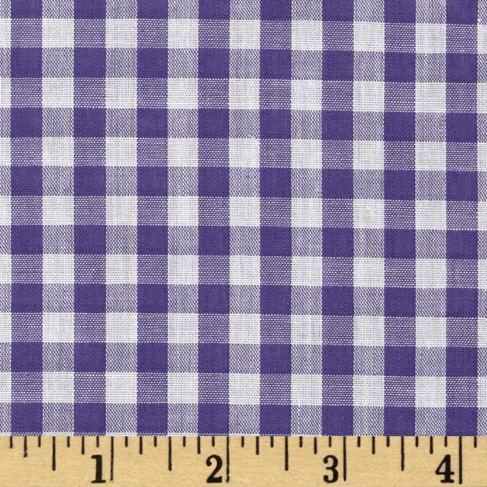 Gingham 1/4 In. Checks Galore Purple