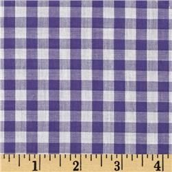 Gingham 1/4'' Checks Galore Purple