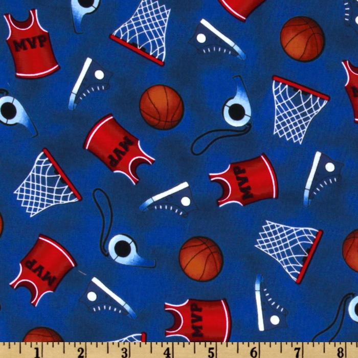 Sports Life Basketball Equipment Royal Blue