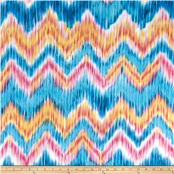 Fleece Abstract Chevron Multi