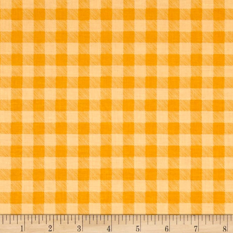 Let's Go Camping Checkered Plaid Golden