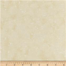 Retro Santa Tonal Speckles Light Cream