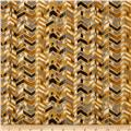 Le Jardin Striped Chevron Yellow/Multi