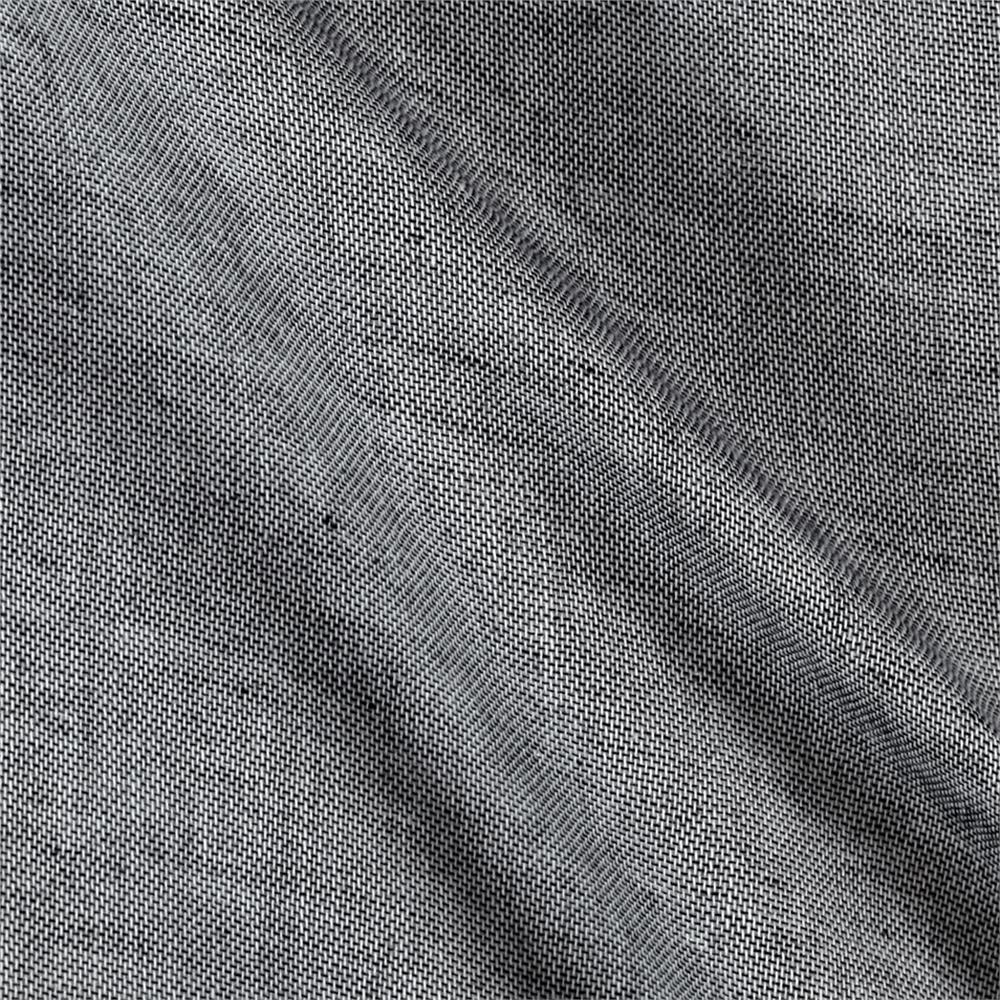 Kaufman Double Gauze Chambray Charcoal