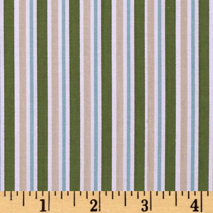 Fisherman's Trail Stripe Green