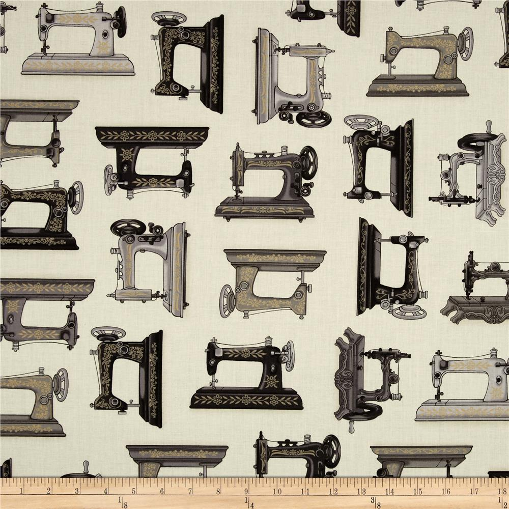 Vintage Couturier Sewing Machines Cream
