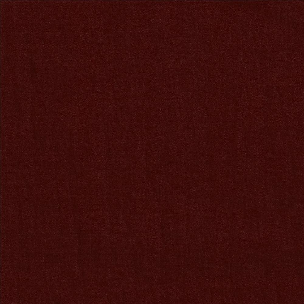 Nylon Crinkle Cloth Maroon