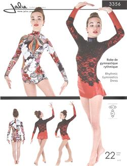 Jalie Rhythmic Gymnastics Dress Pattern