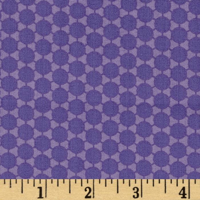 Paisley Please Connect the Dots Purple