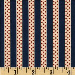 Penny Rose Americana Stripe Navy