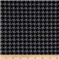 Ponted de Roma Houndstooth Check Black