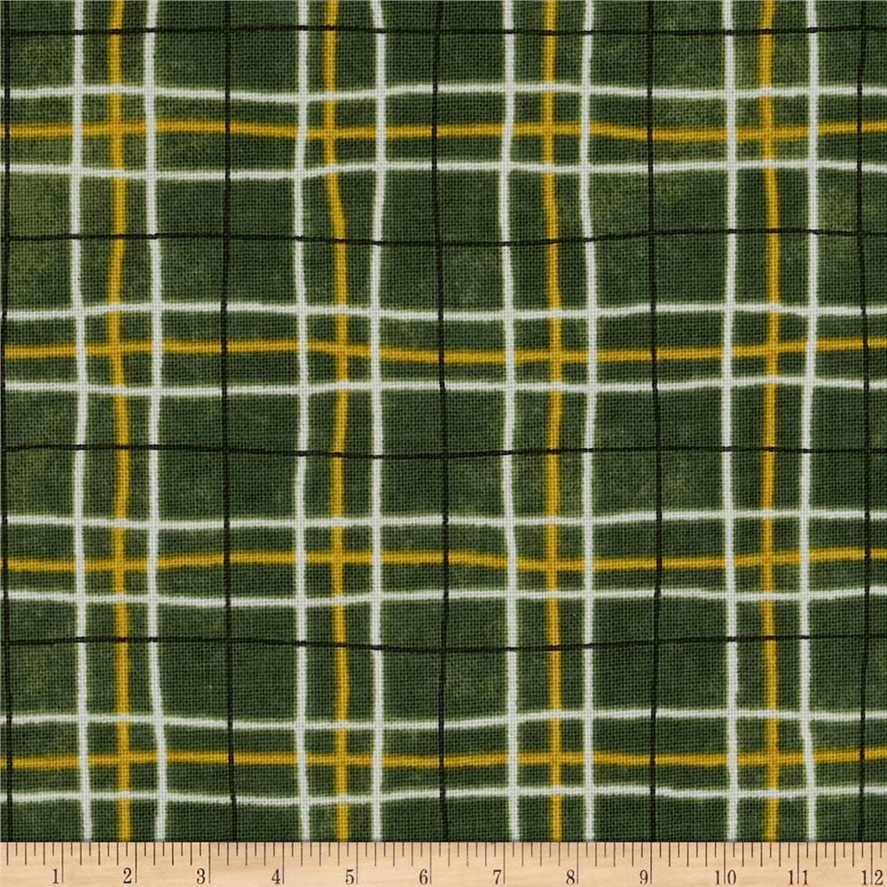 Farmers Market Plaid Green