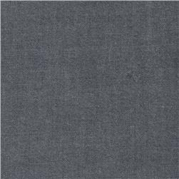 Kaufman Interweave Chambray Black
